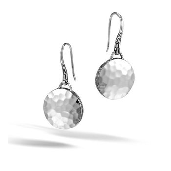 Drop Hammered Earring