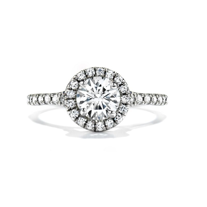 Hearts on Fire Transcend Engagement Ring