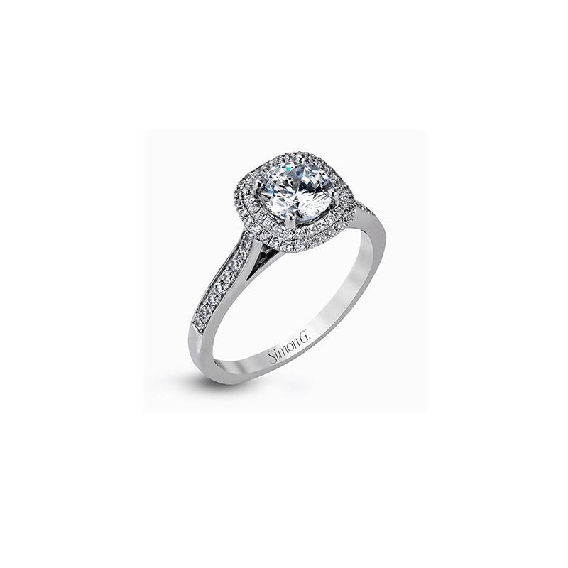 Simon G Engagement Ring Complete