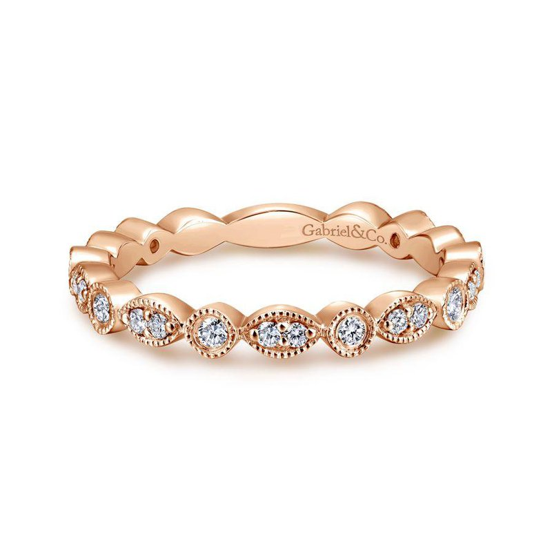Gabriel Fashion Stackable Ring