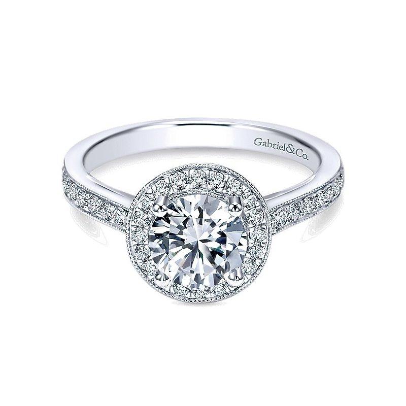Gabriel Bridal Halo Ring