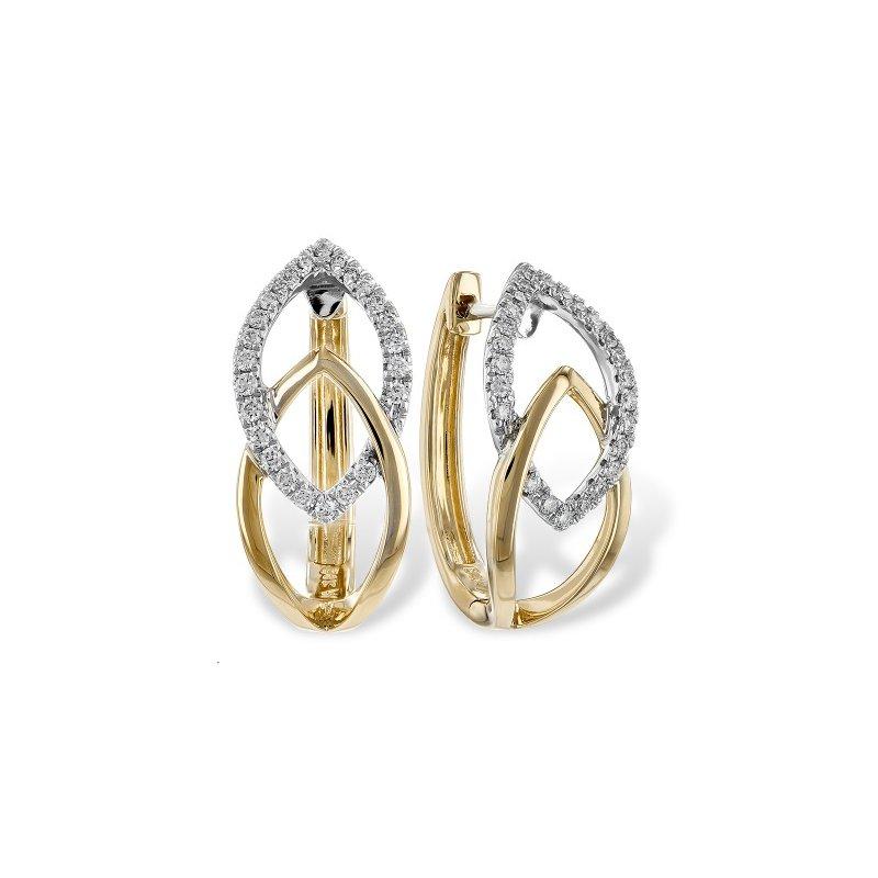 Showcase Collection Modern Huggie Earrings