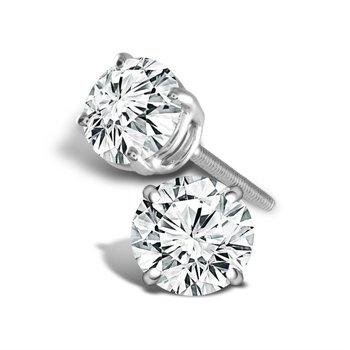 'Better' Diamond Studs: 0.50ctw