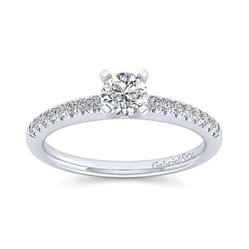 Prong Set Engagement Ring