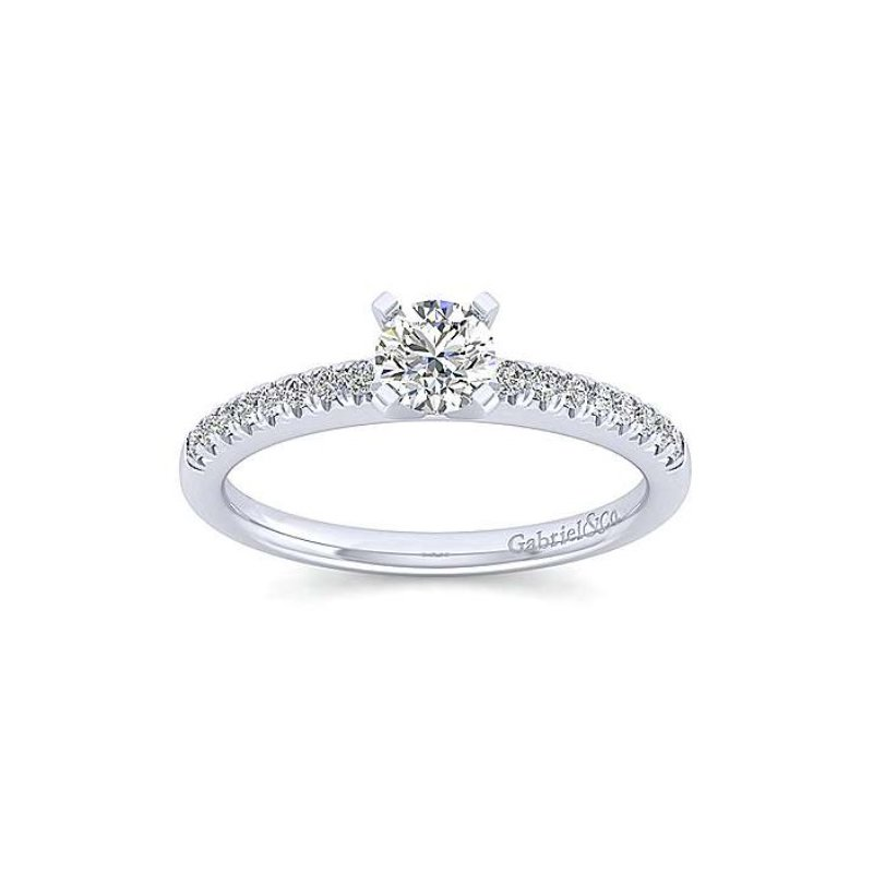 Gabriel Bridal Prong Set Engagement Ring