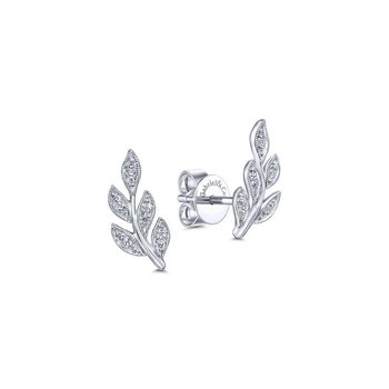 Leaf Style Earrings