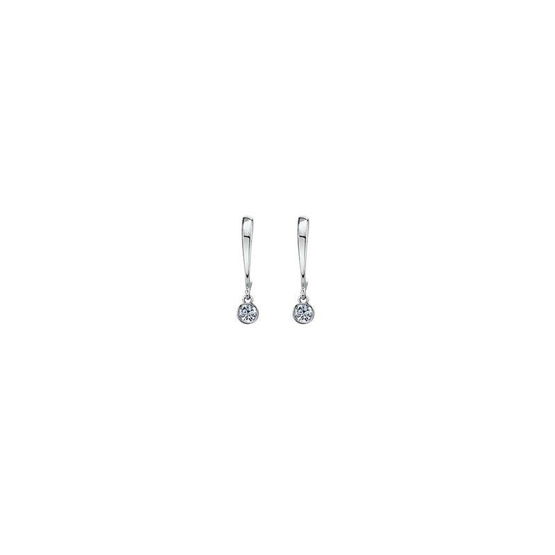 Showcase Collection Diamond Dangle Earrings