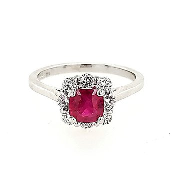 Ruby Fashion Ring