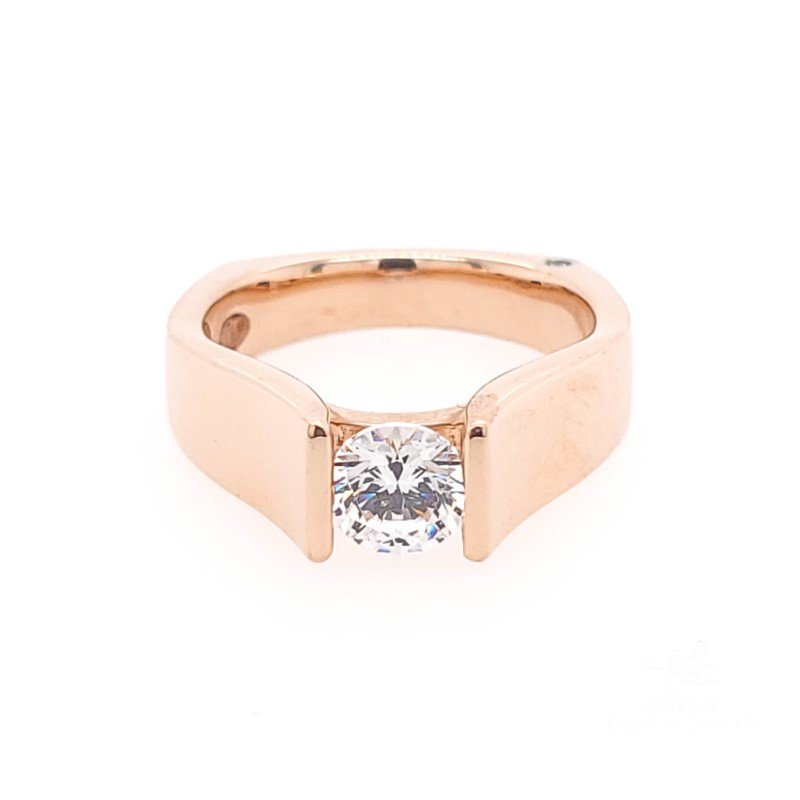 JDC Handcrafted Signature Solitaire Ring