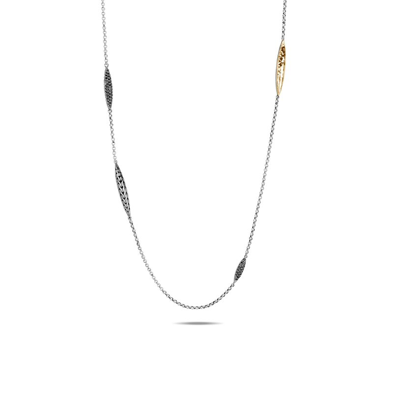 JOHN HARDY Classic Chain Spear Station Necklace