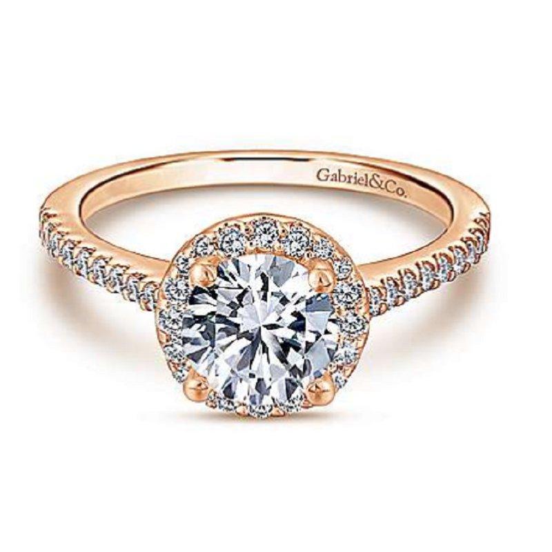 Gabriel Bridal Halo Engagement Ring
