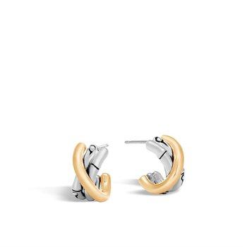 Small J Hoop Earring