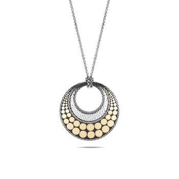 Dot Reversible Pendant Necklace