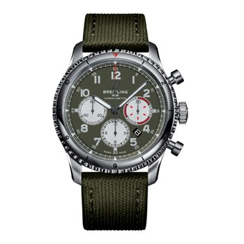 Aviator 8 B01 Chronograph Curtiss Warhawk