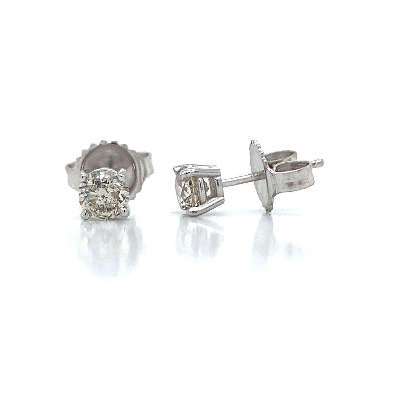 Robert Palma Designs 14K Diamond Stud Earrings