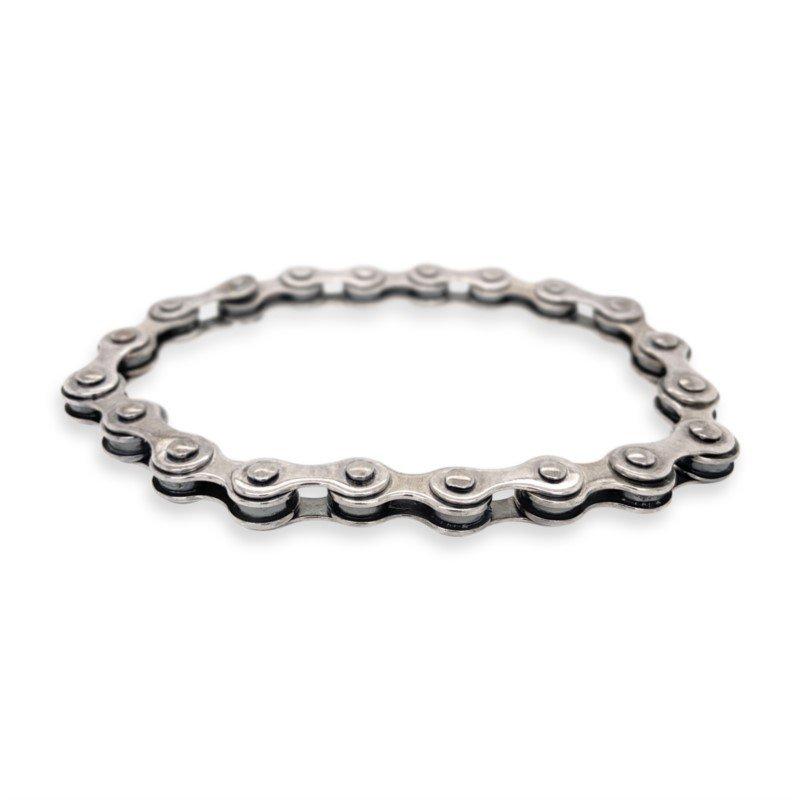 Robert Palma Designs Silver Bike Chain Bracelet