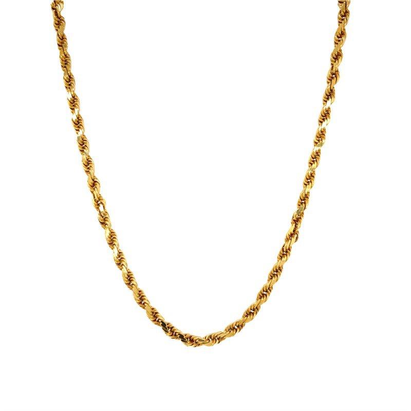 Robert Palma Designs 14k Yellow Gold Rope Chain