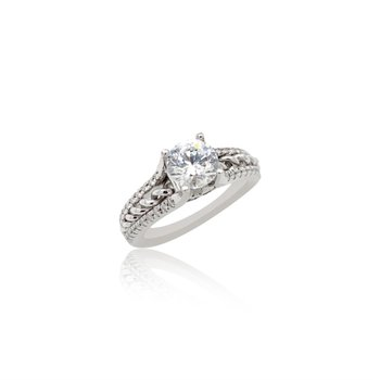 18k White Gold Ritani Ring