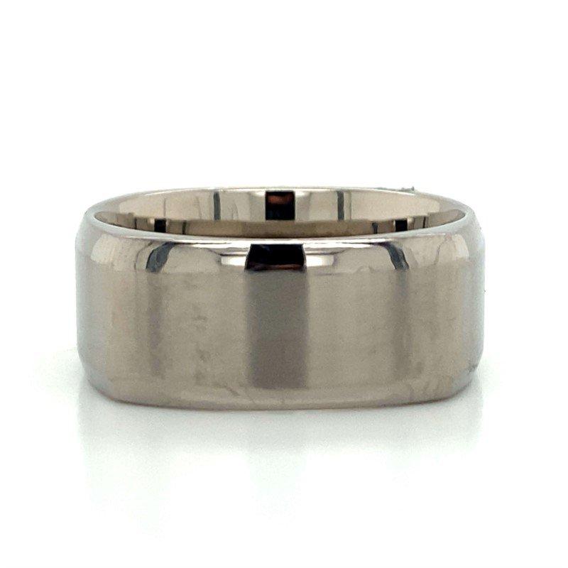 Benchmark Rings Titanium & Tungsten Squared Band