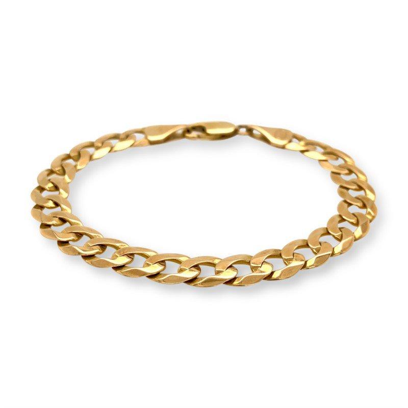 Robert Palma Designs 14K Yellow Gold Curb Link Bracelet