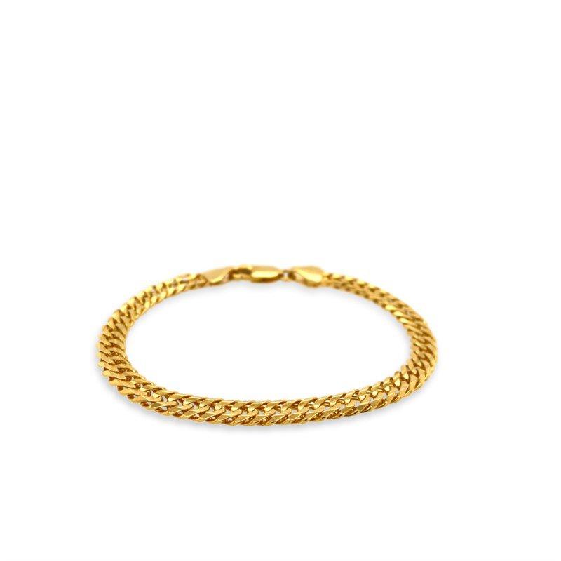 Robert Palma Designs 14K Cuban Chain Bracelet