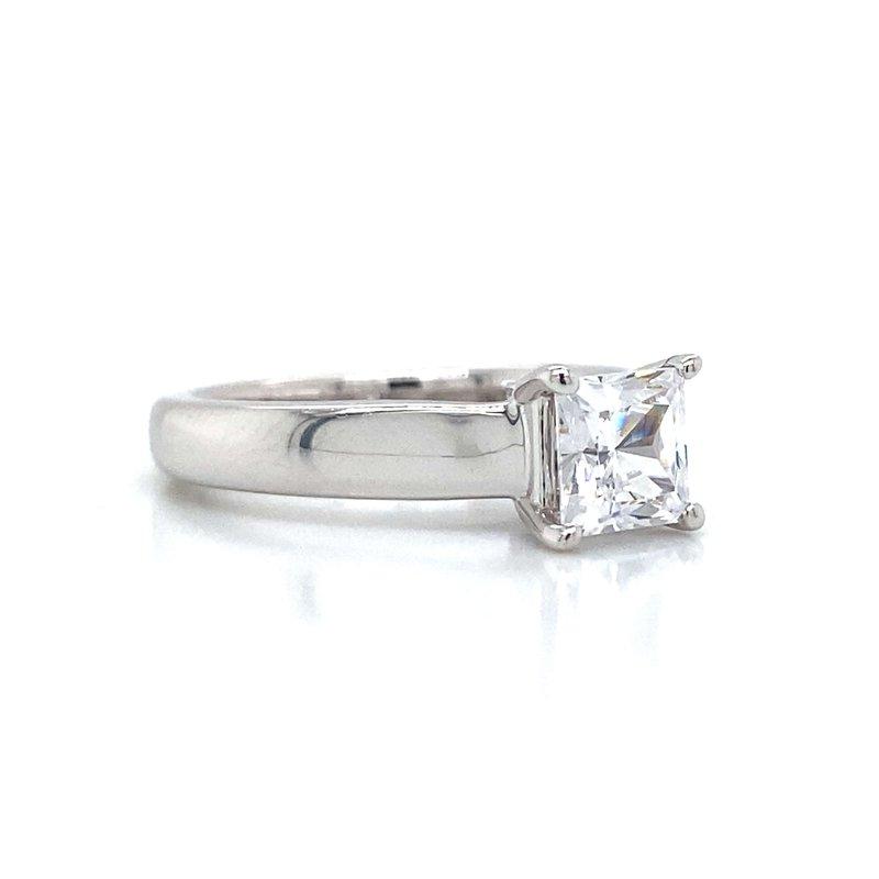 Ritani 14k White Gold Solitaire Ritani Ring