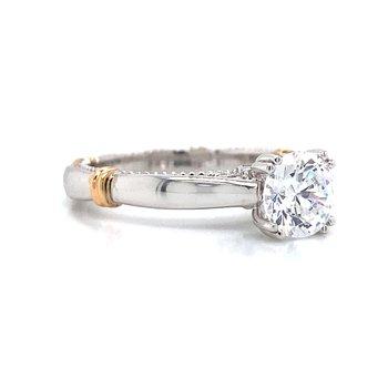 18k White & Rose Gold Verragio Ring