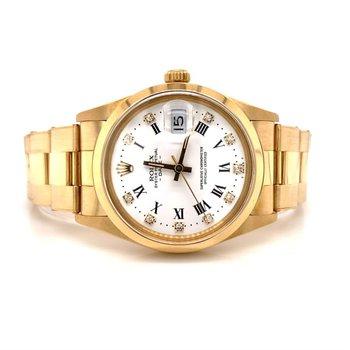 Rolex Yellow Gold Date Watch