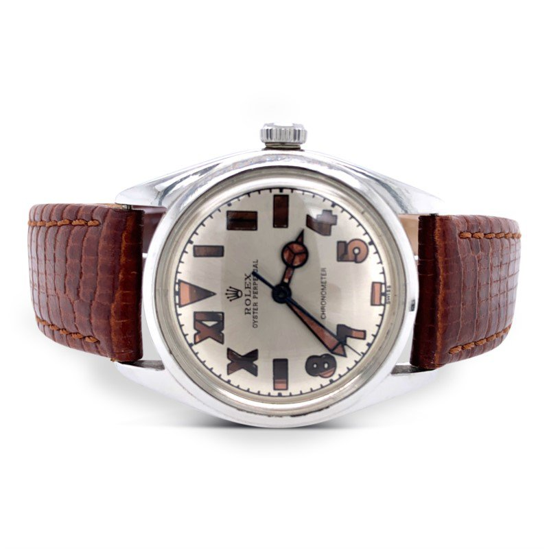Rolex Stainless Steel Bubble Back Watch