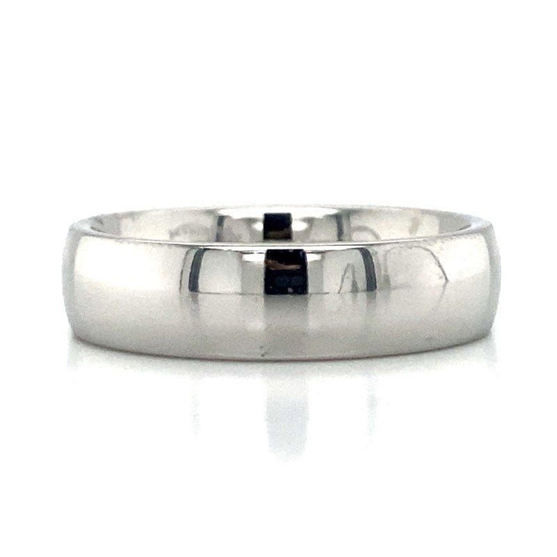 Benchmark Rings Cobalt Chrome Band