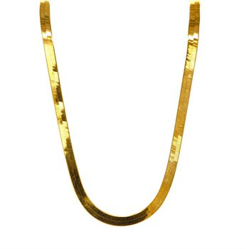 10k Yellow Gold Herringbone Chain