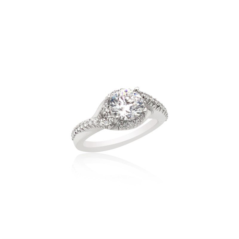 Ritani 18k White Gold Ritani Ring