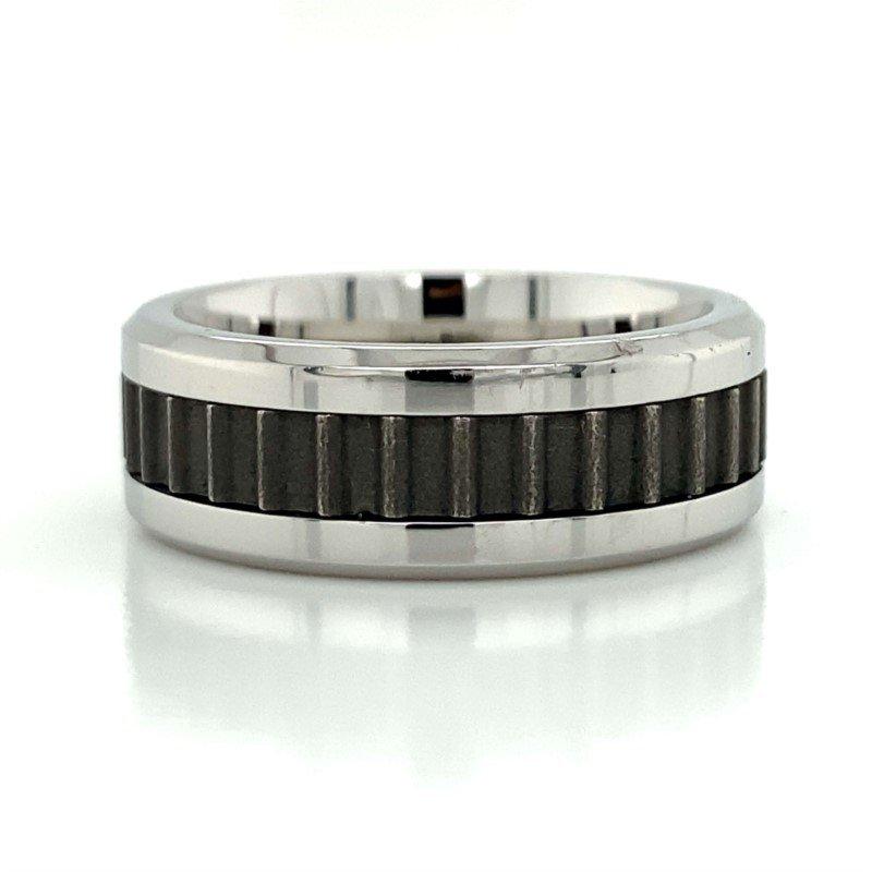 Benchmark Rings Cobalt Chrome, Titanium, & Tungsten Band