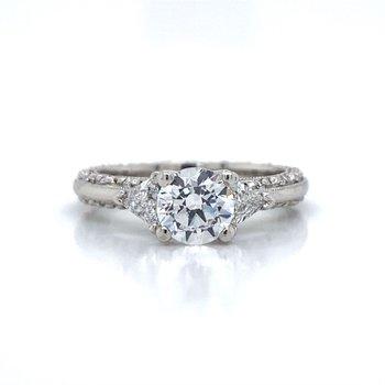 Platinum Tacori Ring