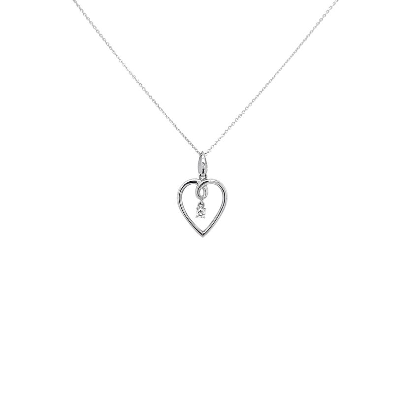 Robert Palma Designs Open Heart Dangle Pendant