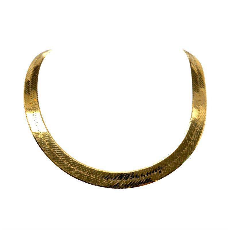 Robert Palma Designs 14k Yellow Gold Herringbone Chain