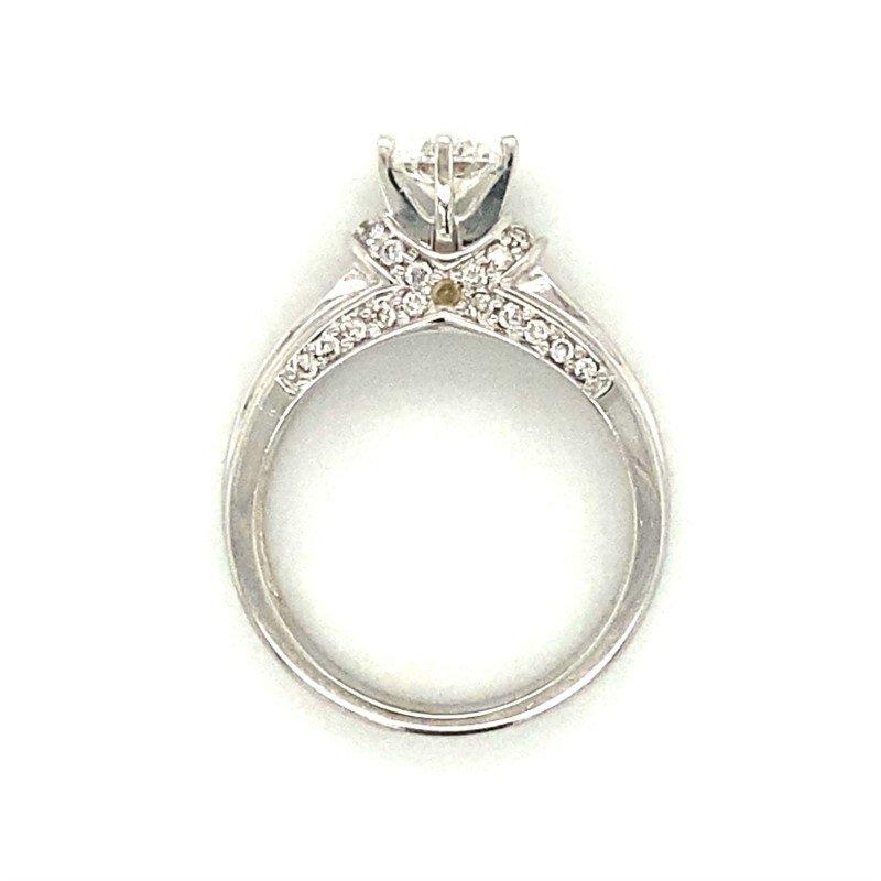 Robert Palma Designs 14k White Gold Diamond Ring