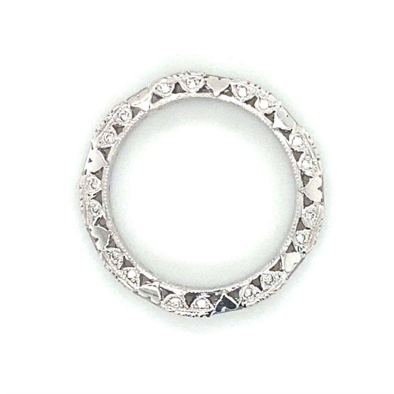 Robert Palma Designs Platinum Diamond Tacori Band