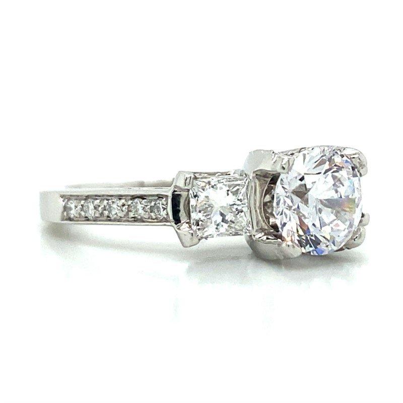 Verragio Platinum Verragio Three Stone Ring