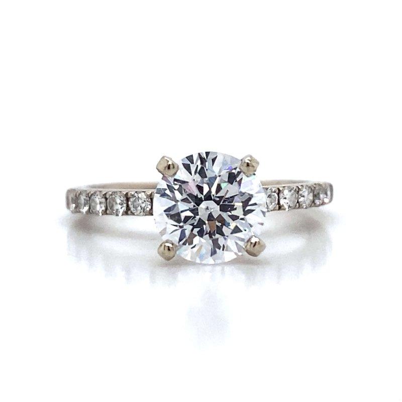 Robert Palma Designs 18K Diamond Engagement Ring