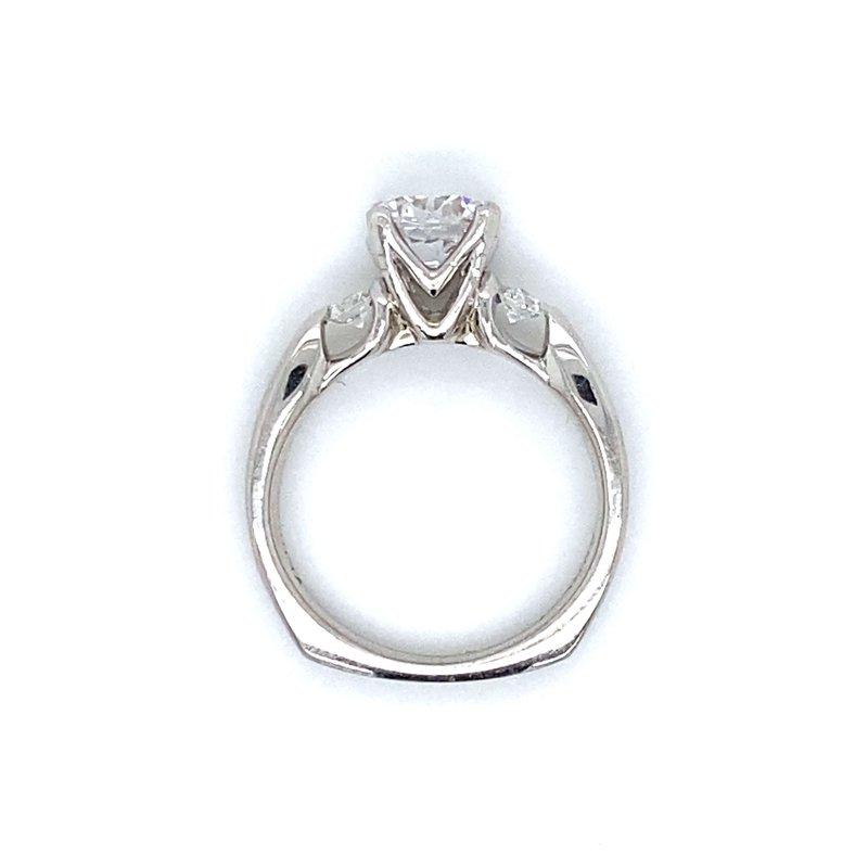 Verragio Platinum Three Stone Verragio Ring