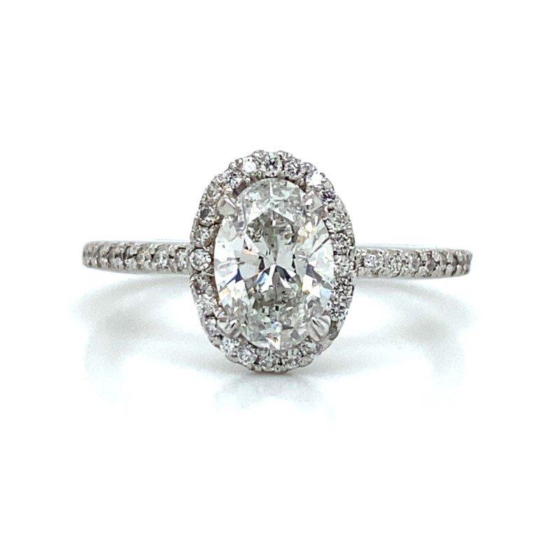 Robert Palma Designs Platinum Diamond Engagement Ring