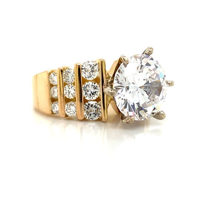Robert Palma Designs 18K Engagement Ring