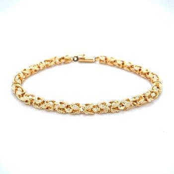 14k Yellow Gold Kings Chain