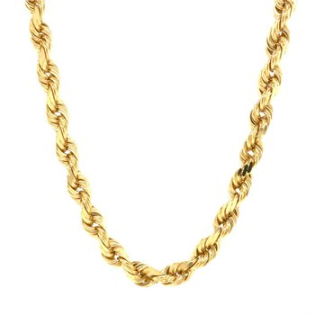 14K 6mm Rope Chain