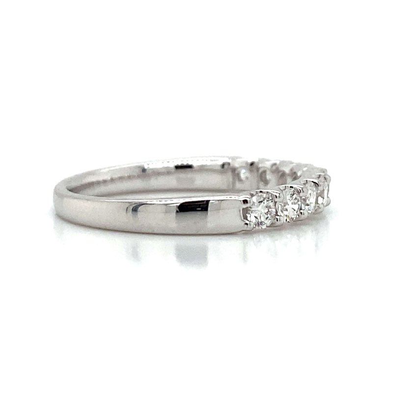 Robert Palma Designs 14k White Gold Diamond Band