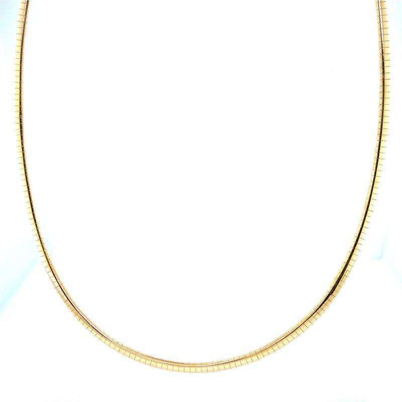 Robert Palma Designs 14k Yellow Gold Omega Chain