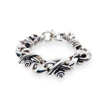 Silver Heavy Link Bracelet