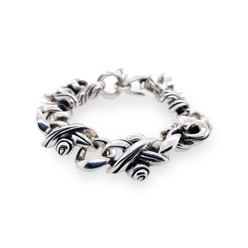 Robert Palma Designs Silver Heavy Link Bracelet