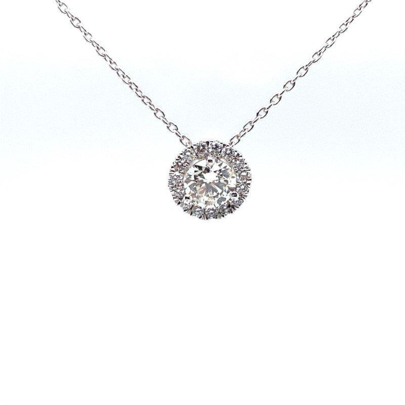 Robert Palma Designs Diamond Halo Pendant